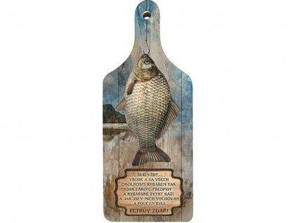 dekoracni prkenko pro rybare 1