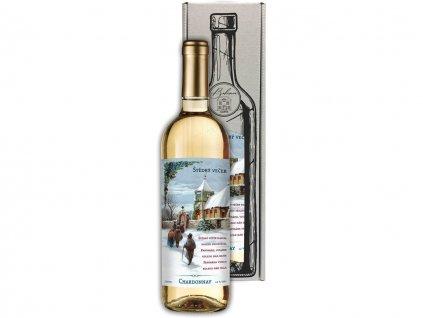 Vánoční víno Chardonnay 0,75 l