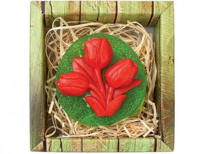 Ručně vyráběné mýdlo tulipán