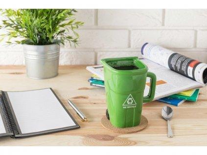 zeleny hrnek kos pro milovniky recyklace 4