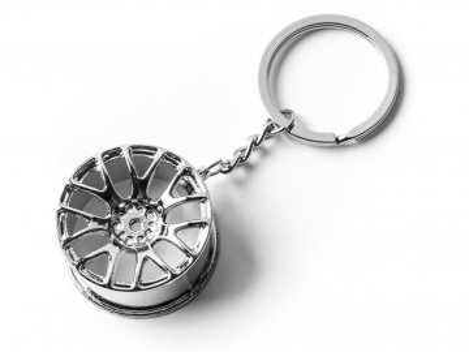 Přívěšek na klíče alu disk