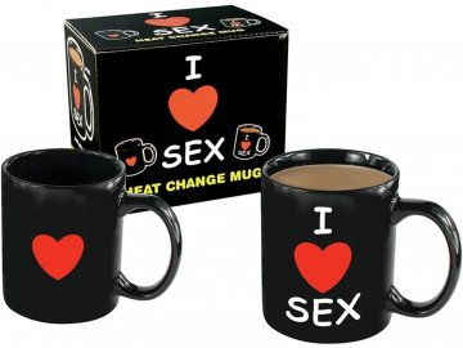 Hrníček I love sex