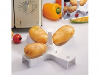 Stojan na přípravu brambor v mikrovlnce 1