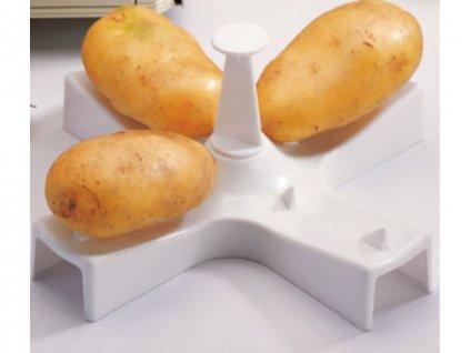 Stojan na přípravu brambor v mikrovlnce
