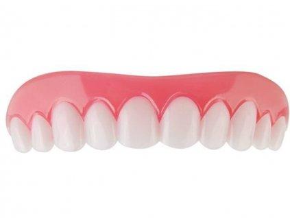 Silikonová zubní protéza