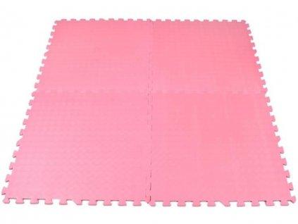 EVA Pěnový koberec 60x60 4 ks modré