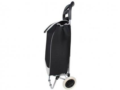 Nákupní taška na kolečkách 25L černo šedý 14