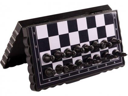 Cestovní skládací magnetické šachy 13cm 2