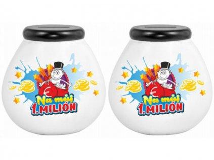 Pokladnička baňka Na můj 1.milión 1