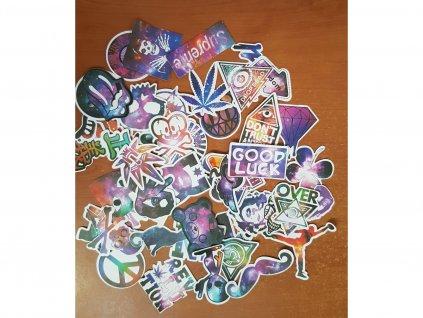 Nálepky na auto Stickers Bomb 50 kusů 1