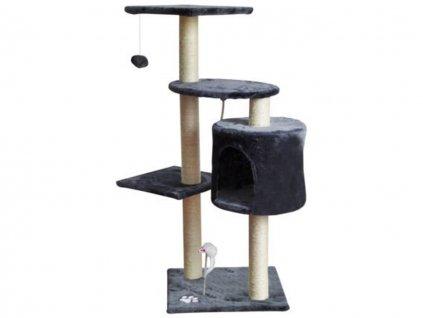 Škrabadlo pro kočky 110 cm hnědá 11
