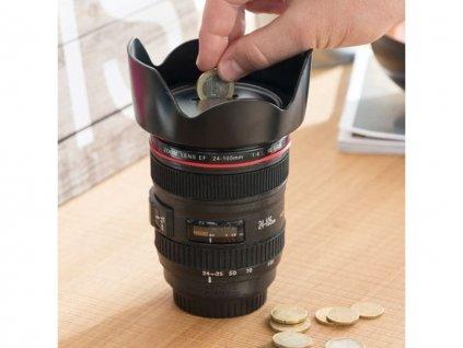 Pokladnička objektiv lens cup 3