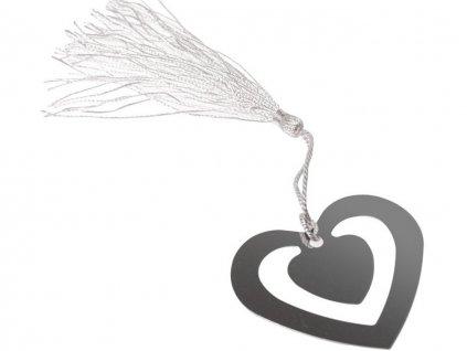 Záložka do knihy srdce 5