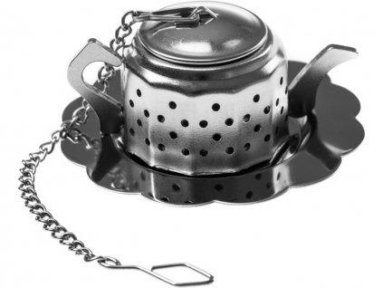 Nerezové sítko na čaj konvička 3