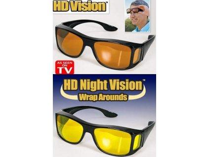 HD Vision brýle pro řidiče - poškozený obal