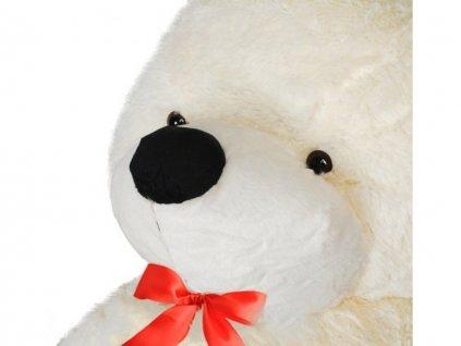 plyšový medvěd 130 cm bílý1