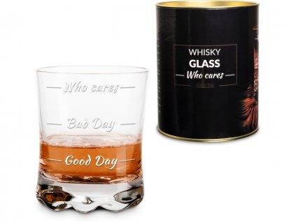 sklenice na whisky who cares 7