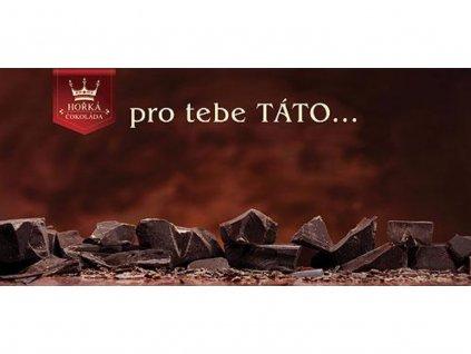 darkova horka cokolada 100 g pro tatinka