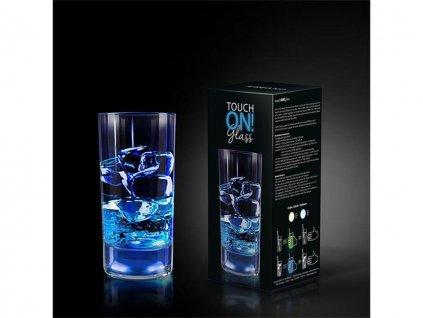 Svítící sklenička Touch ON Creano zelená2
