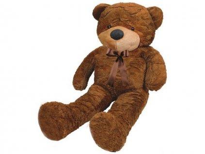 plysovy medved 130 cm tmave hnedy 4