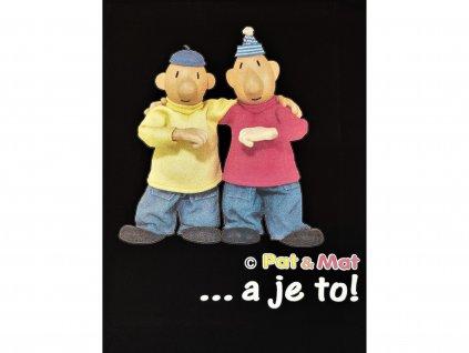 tričko pat a mat a je to