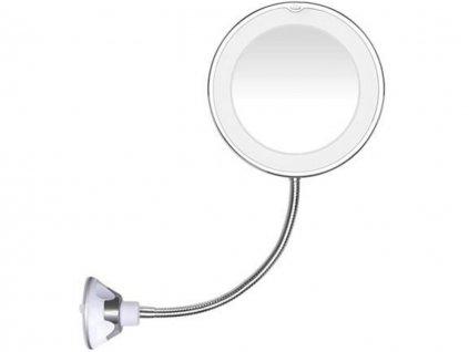 LED zrcadlo s přísavkou