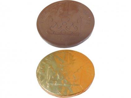 cokoladova mince koruna 1