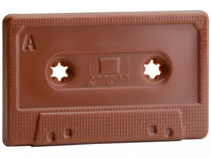 Čokoládová Audiokazeta 40g