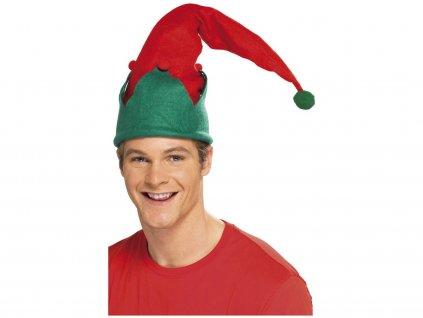 Vánoční čepice Elf