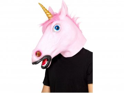 Maska Jednorožec
