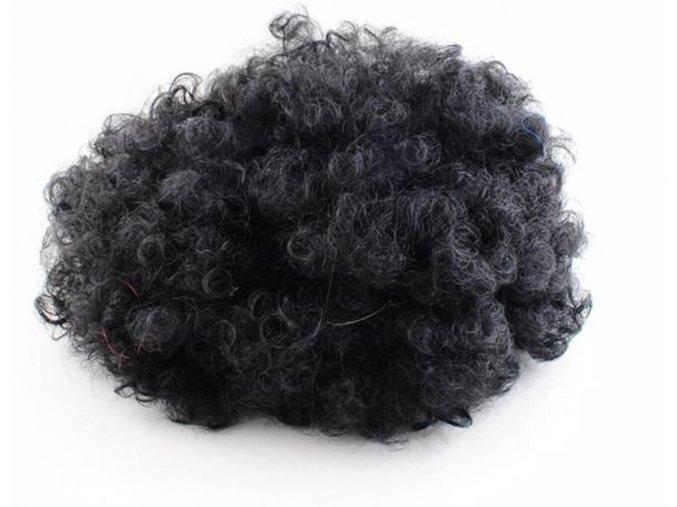 Afro paruka černá 1