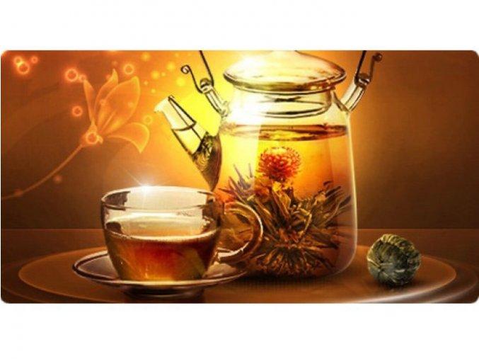 Kvetoucí čaj - Západ Slunce