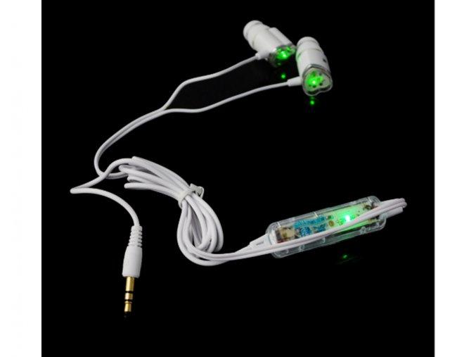 Zamilované svítící LED sluchátka