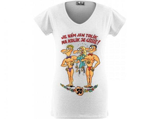 Tričko - výročí žena 50