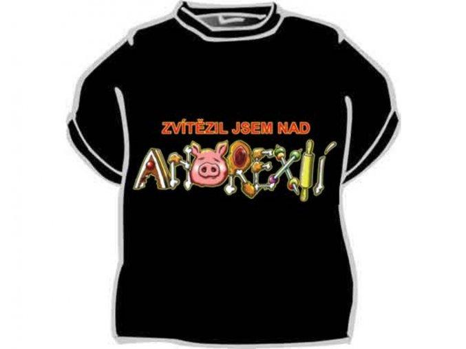 Tričko - Zvítězil jsem nad anorexií