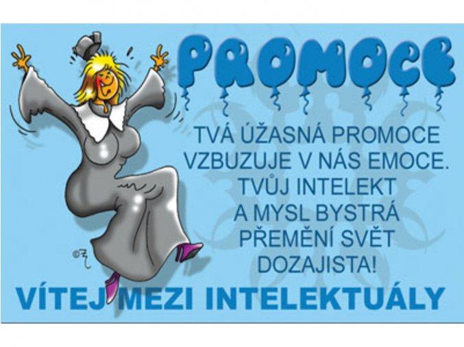 Průkaz - Promoce