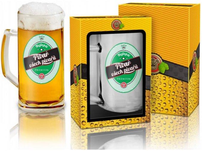 Půllitr - Pivař všech pivařů