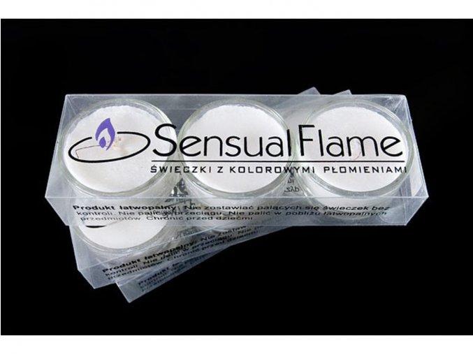 Magická svíčka - oranžová