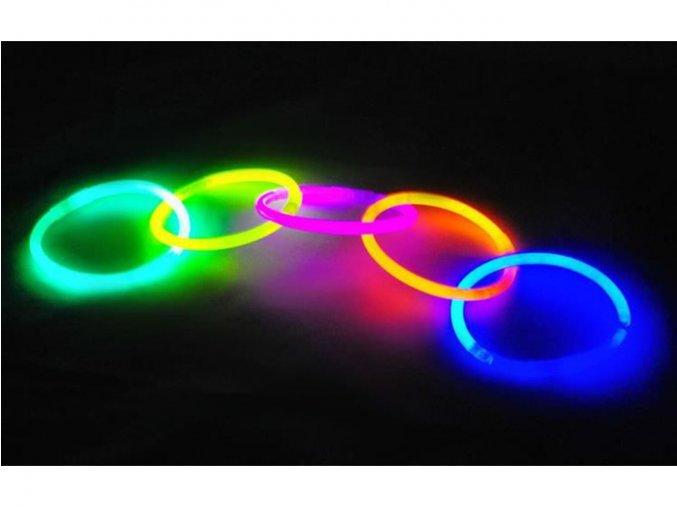 Svítící tyčinky 100 ks