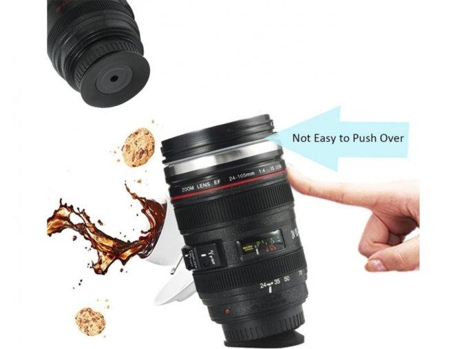 Antigravitační Hrnek objektiv Lens cup 6