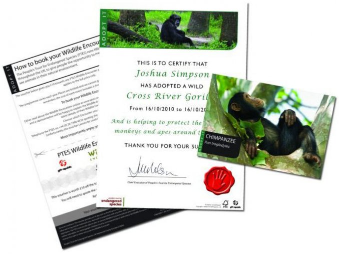 Adoptujte opici