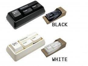 Kancelářské klávesy - černé