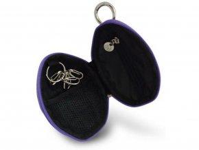 Peněženka granát s kličenkou