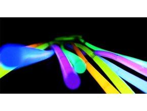 Svítící náramky 100 ks barevné