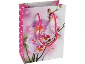 Dárková taška - Orchideje světlé