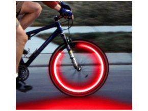 LED svíticí ventilek - červený
