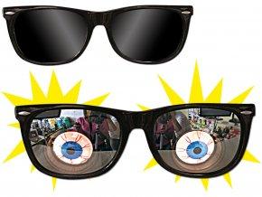 Brýle s očima TERROR