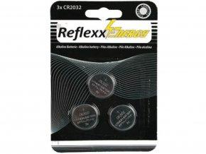 Alkalické baterie Reflex CR2032 3V