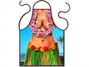 Zástěra Hawaii girl