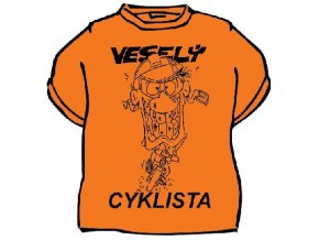 Tričko - Veselý cyklista